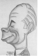 Norman Bethune caricature 1937